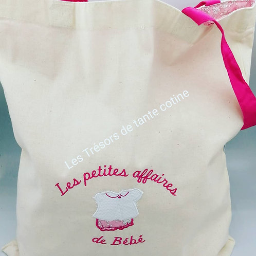 Tote bag doublé liberty