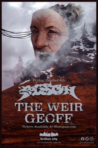 October 8th   Bison  The Weir   GEOFF