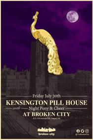 July 30th   Kensington Pillhouse   Night Pony   Cheer