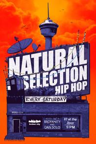 Natural Selection Hip Hop Poster