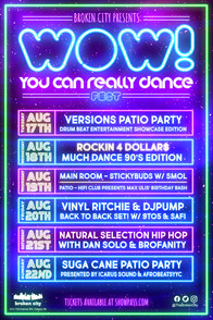 WOW! You Can Really Dance Fest Poster
