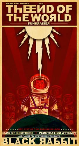 Major Matt Mason - End of the World poster