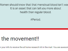 Opportunity to Participate in Menstrual Blood Research