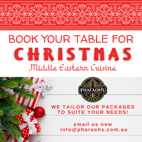 Book your table for Christmas Now