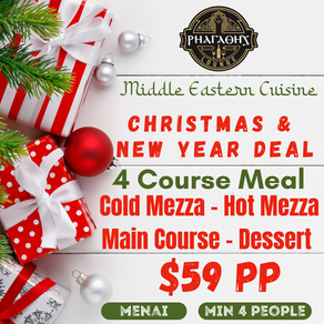 Celebrate your Christmas function with us!