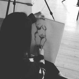 Skin & Poems: Sherry Wang, Sketch Artist