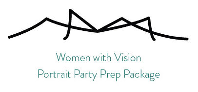 Women with Vision Portrait Party Prep Package