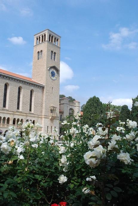 Winthrop Hall, sur le campus de UWA