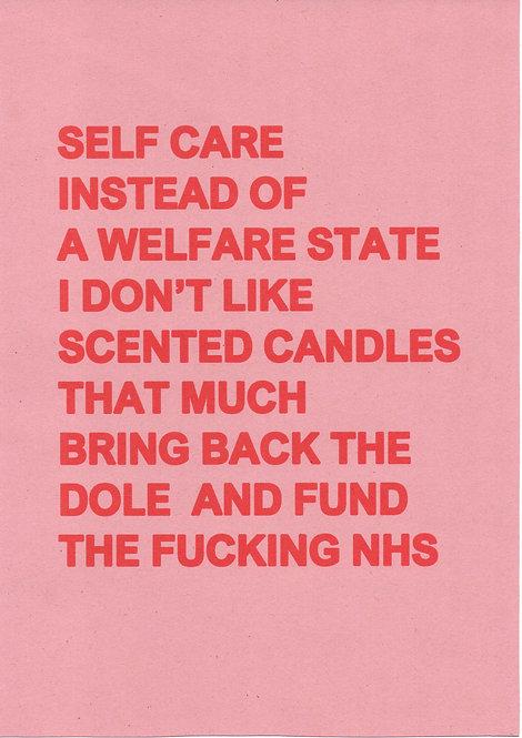 Self Care (Pink)