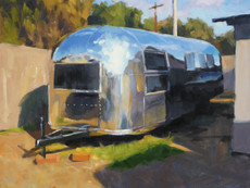 Airstream Out Back