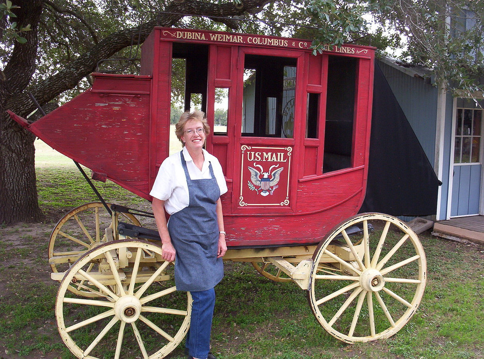 Pattie Catering in Old West town