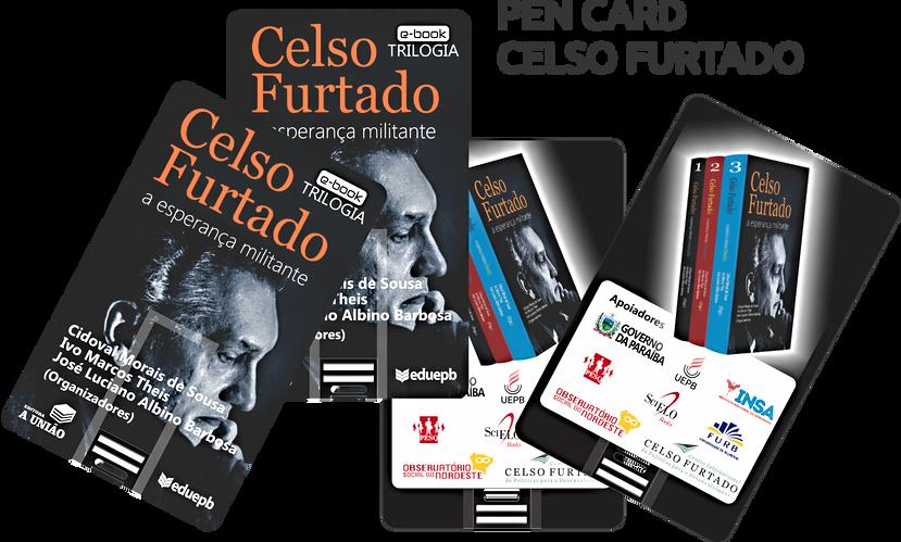 PEN CARD CELSO FURTADO VERSÃO 3 x6 ARRAN