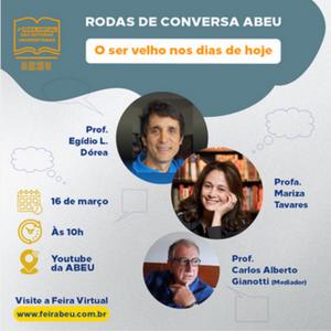 RODA DE CONVERSA ABEU 16 de março, 10 horas, YOUTUBE