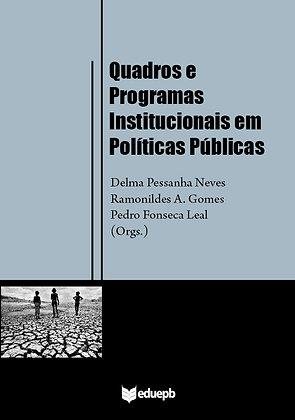 QUADROS E PROGRAMAS INSTITUCIONAIS EM POLÍTICAS PÚBLICAS