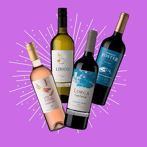 Kit Vinos Mauricio Lorca