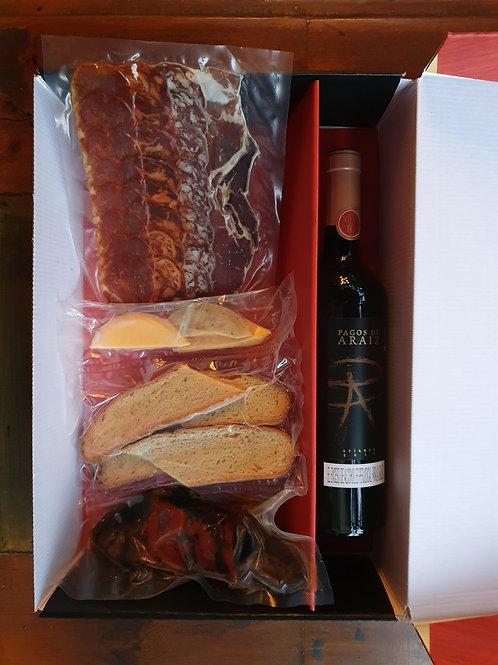 Kit Madurados Ibéricos + Vino