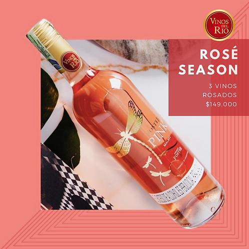 Kit 3 vinos rosados