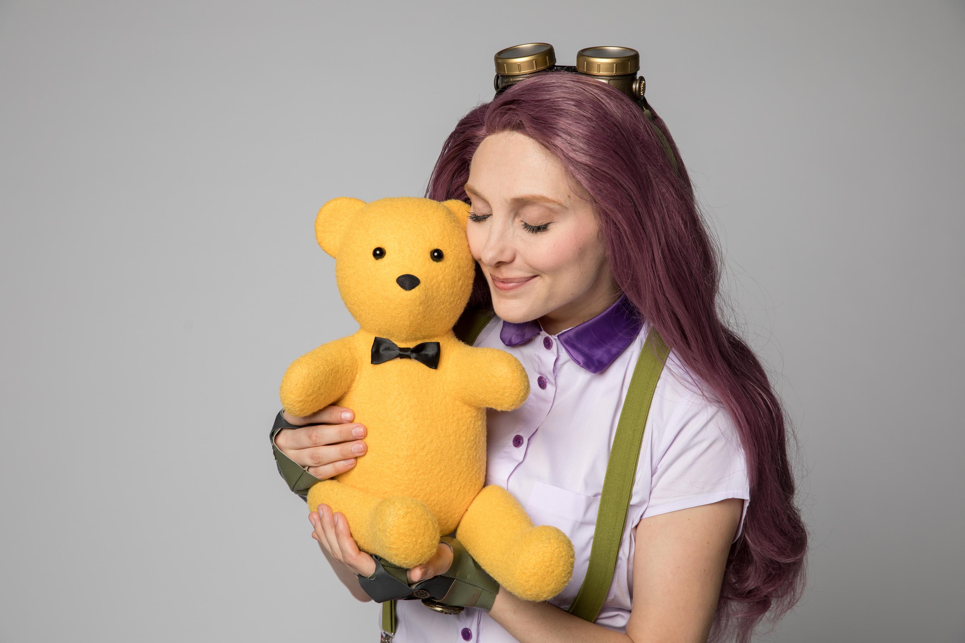 Miss P & Brandon Bear