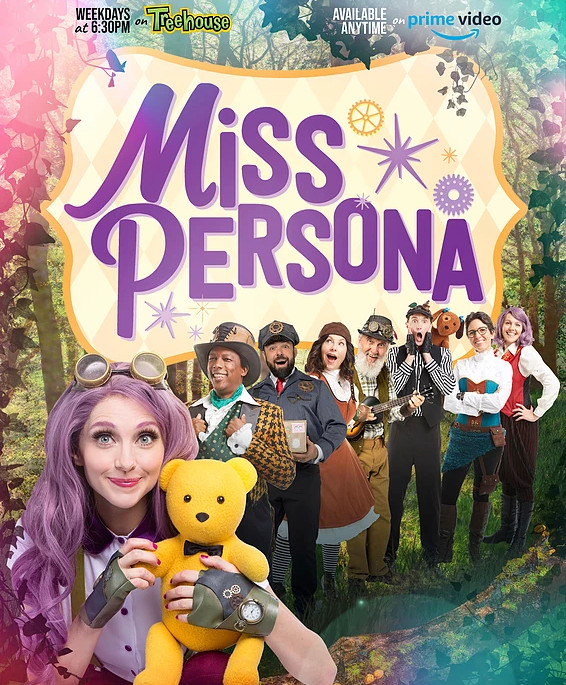 Miss P poster.