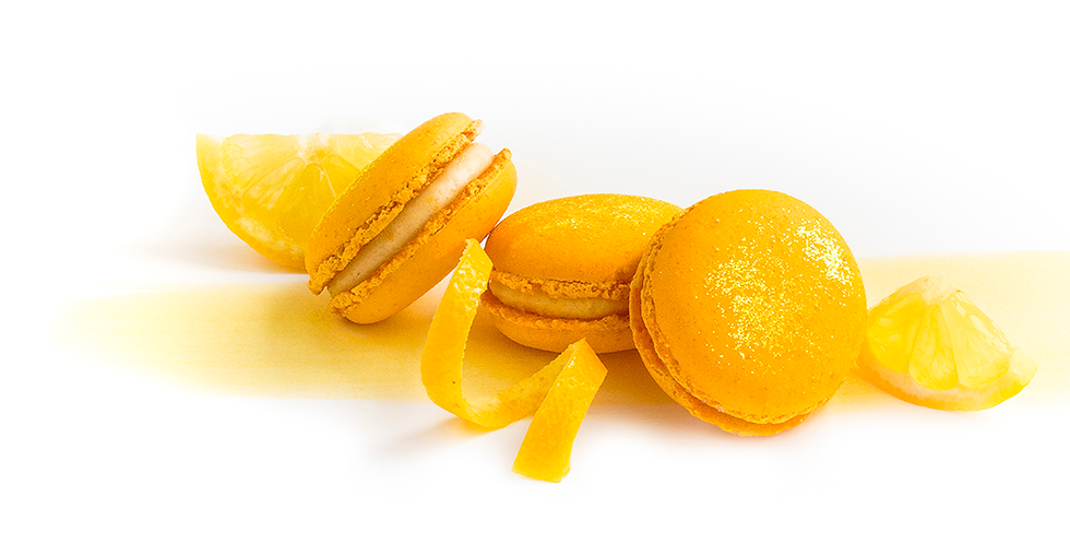 Classic box of Gourmand Lemon Macarons