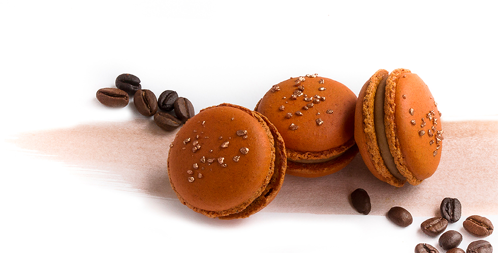 Classic box of Arabica Coffee Macarons
