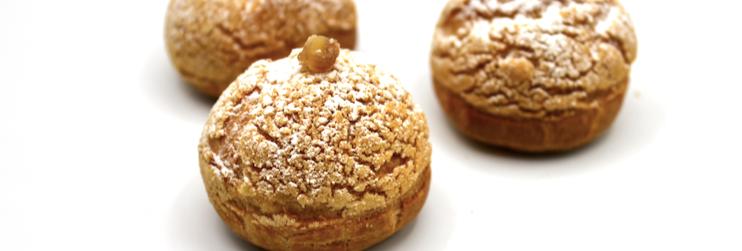 Chestnut Chantilly Choux - Box of 10