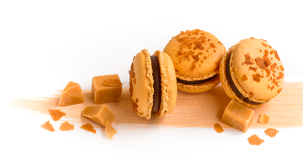 Classic box of Salted Butter Caramel Macarons
