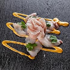 Tiradito pescado blanco