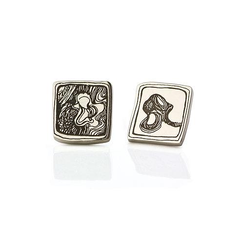 Earrings Antelope Square