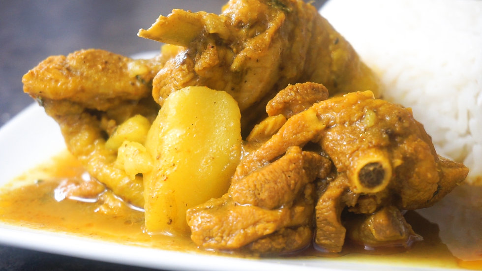 Curry Chicken L