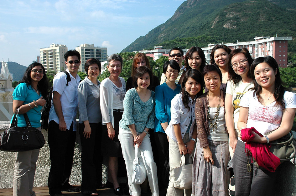 With English Department, 2007