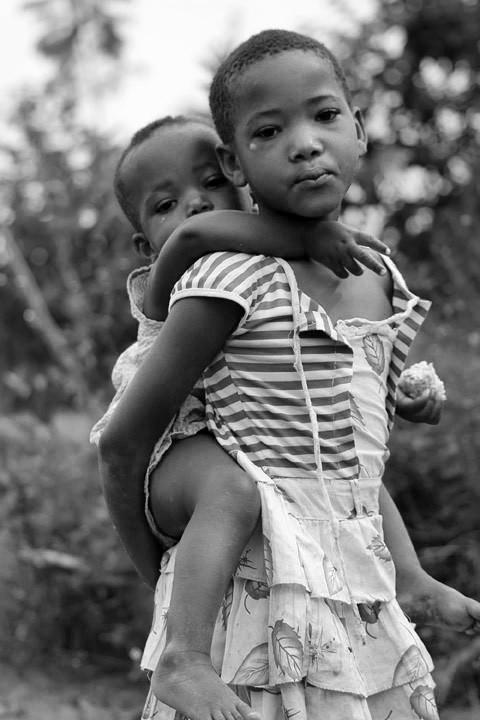Les enfants rwandais
