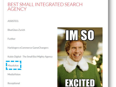 Best Small Integrated Search Agency Finalists