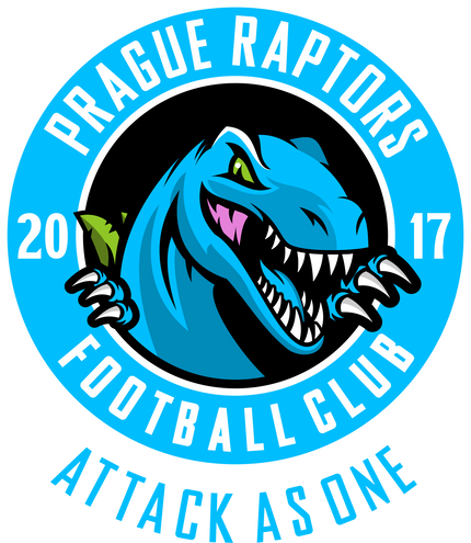 Prague Raptors Football Club Badge