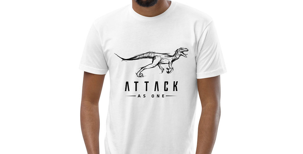 Attack As One - Men's Fitted T-Shirt
