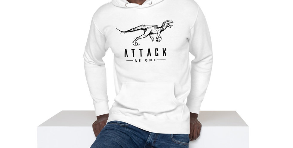 Attack As One - Men's Hoodie