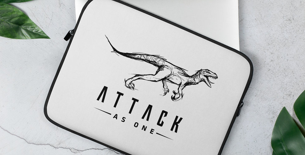 Attack As One - Laptop Sleeve