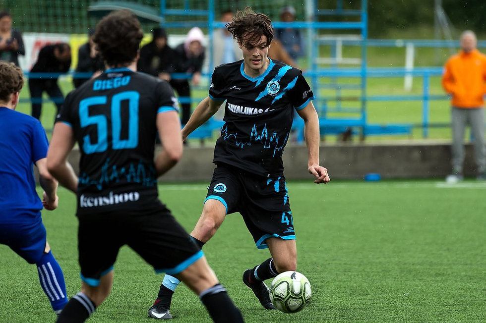 Hans Nysæther - Prague Raptors Football