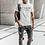 Thumbnail: Attack As One - Text Logo Men's T-Shirt