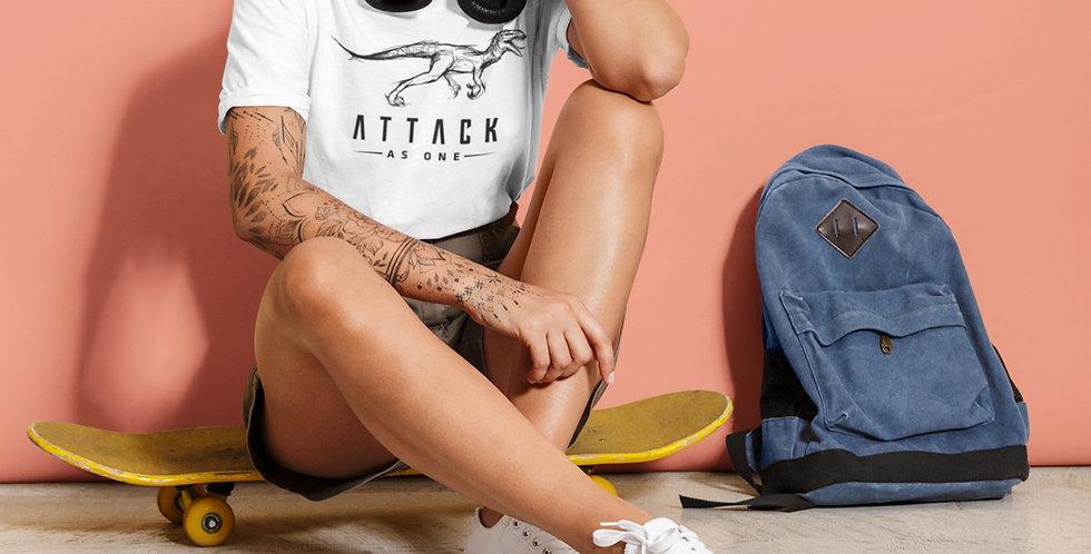 Attack As One - Raptor & Text Logo Women's T-Shirt