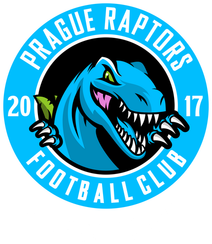 Prague Raptors FC Badge White