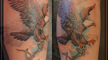 Eagle And Anchor Tattoo