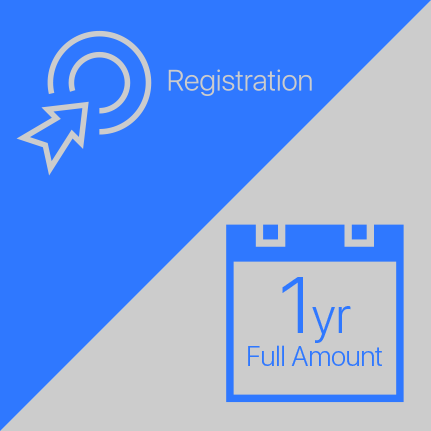 Registration Fee ($1500) & Annual Membership (2 installments, $3200)