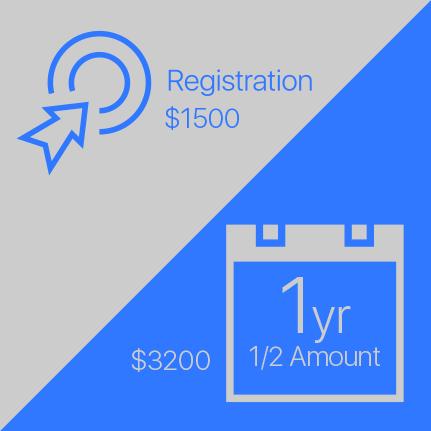 Registration Fee ($1500) & Annual Membership