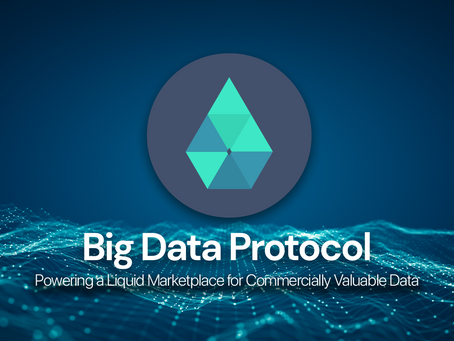Big Data Protocol - A Token With Real Value & A New Marketplace for Commercially Valuable Data