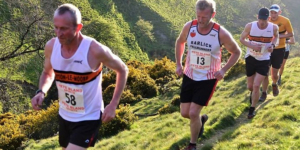 Mearley Clough Fell Race - Tuesday 14th May @ 7:15pm
