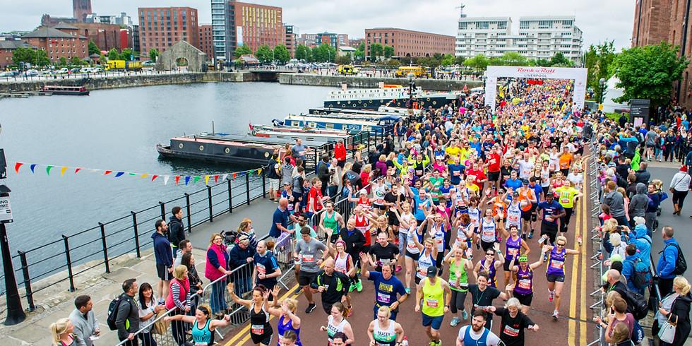 Liverpool Rock'n'Roll Half Marathon - Sunday 26th May @ 9am