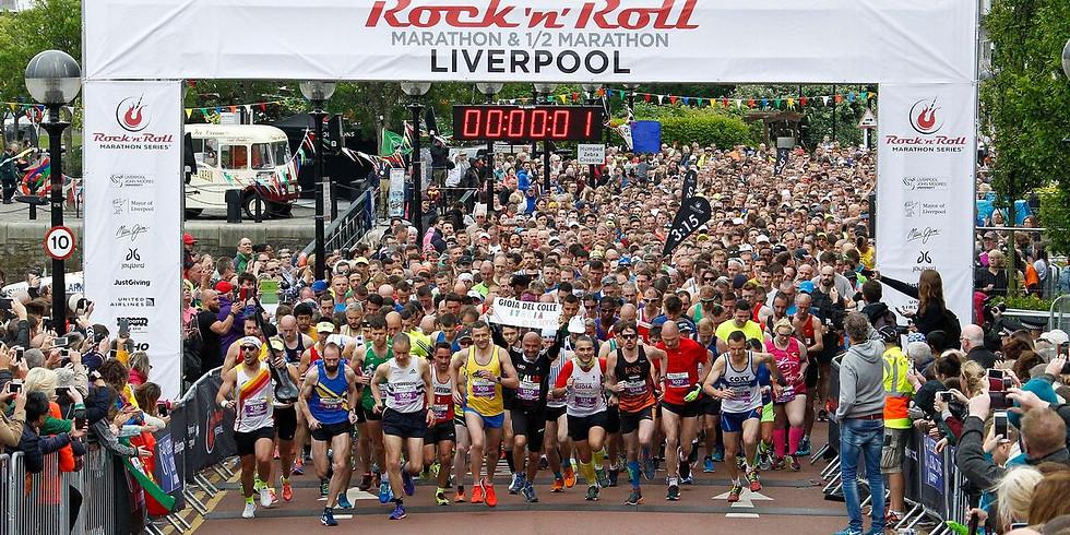 Liverpool Rock'n'Roll Marathon - Sunday 26th May @ 10am