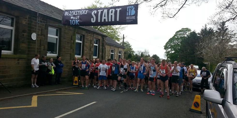 Blacksticks Blue 10k - Sunday 12th May @ 10am
