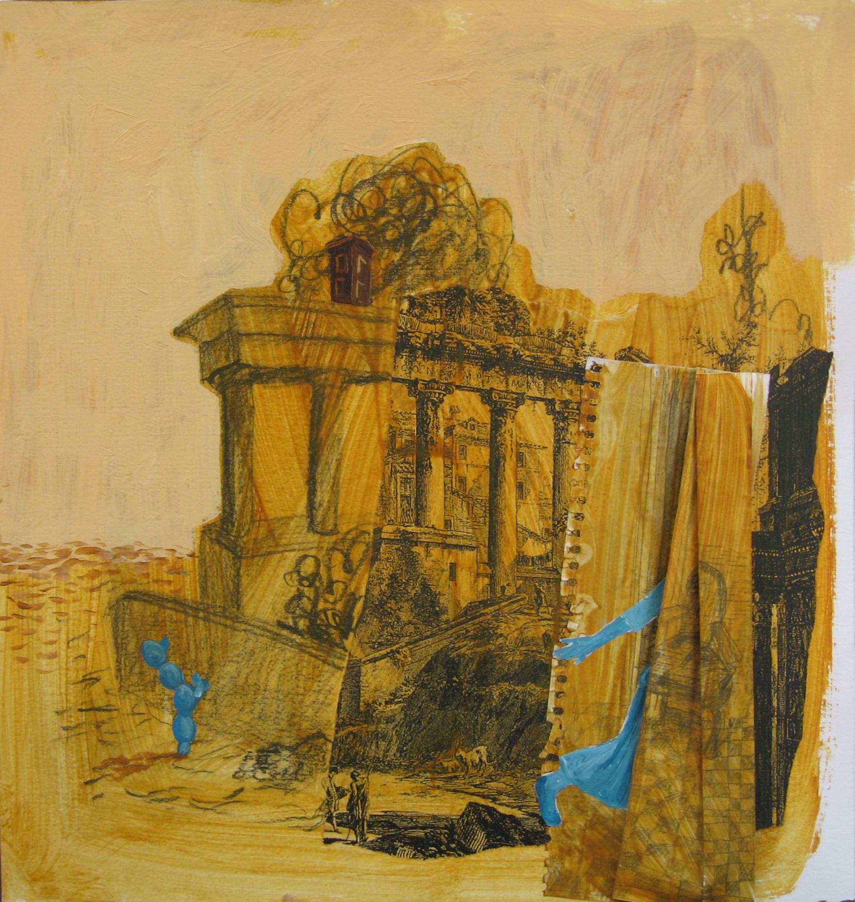 Ruinas y nopal